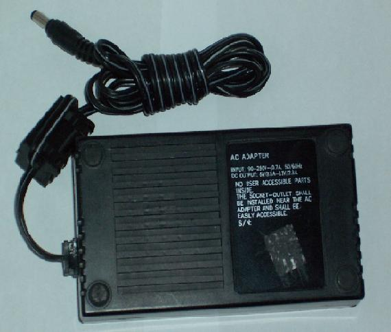 AC ADAPTER 6Vdc 3.5A 11Vdc 2.3A +(-)+ 2.5x5.5mm Power Supply