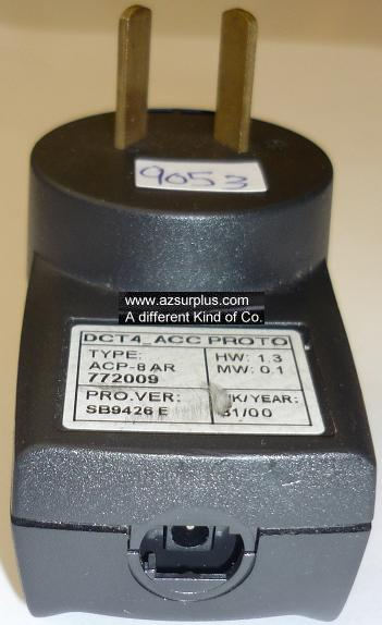 ACP-8AR AC ADAPTER USED POWER SUPPLY AUSTRALIAN PLUG 772009 DCT4