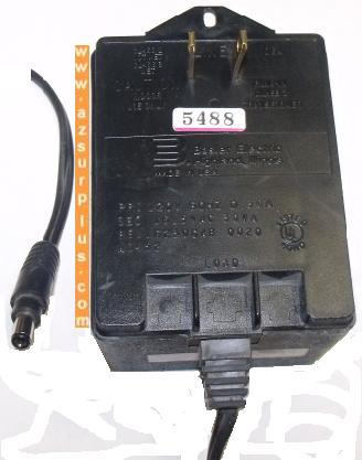 BASLER BE116230CAB AC ADAPTER 16.5VAC 30VA CLASS 2 TRANSFORMER