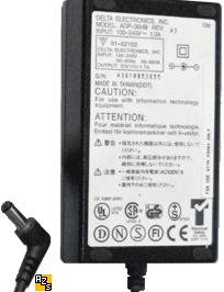 DELTA ADP-36HB AC ADAPTER 20VDC 1.7A POWER SUPPLY