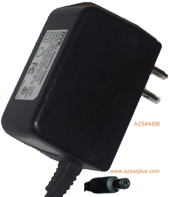 DVE DSA-15P-12 US 2.1mm AC ADAPTER +12VDC 1.25A Switching POWER