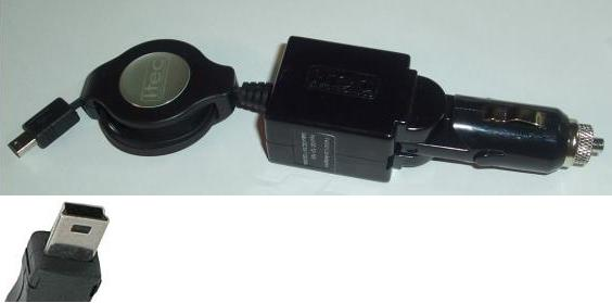 I-TEC ELECTRONICS T4000 DC CAR ADAPTER 5V 1000mA