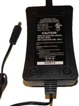IROBOT 10558 AC ADAPTER 22VDC 0.6A USED 2.4 x 5.5 x 10.4 mm