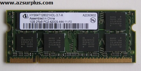 Infineon HYS64T128021HDL-3.7-A Laptop RAM Memory 1GB DDR2 533MHZ