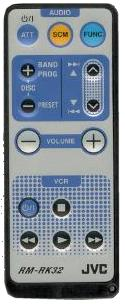 JVC RM-RK32 infrared Universal AV Programmable Remote Control 44