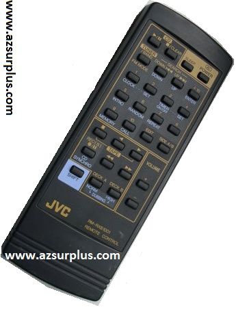 JVC RM-RXB1001X Remote Control Made in Singapore