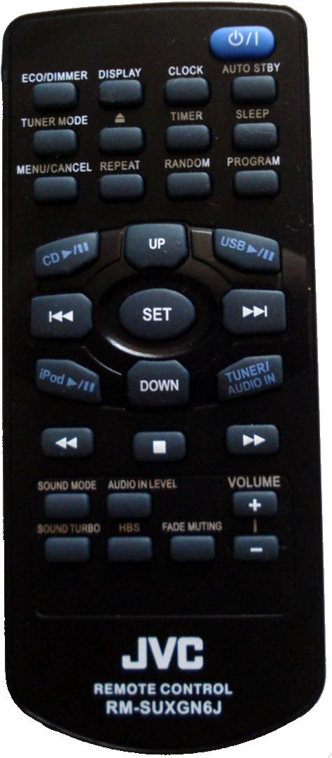 JVC RM-SUXGN6J infrared Universal AV Programmable Remote Control