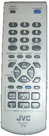 JVC RM-C203G infrared Universal AV Programmable Remote Control