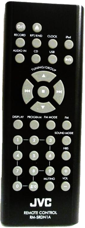JVC RM-SRDN1A infrared Universal AV Programmable Remote Control
