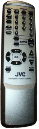 JVC RM-SFSH300J infrared AUDIO SYSTEM Remote Control 38 Buttons