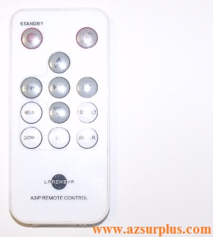 LANCHIYA 12 BUTTONS REMOTE CONTROL USING CR2025 3V BATTERY INFRA