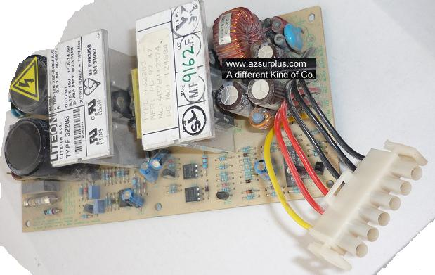 LITEON TYPE 32283 BARE PCB POWER SUPPLY USED 5.15-5.45V 20A 110W