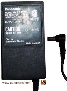 PANASONIC KX-A07C AC ADAPTER 15VDC 350mA 10W POWER SUPPLY