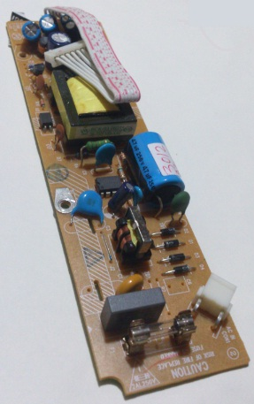 PHILIPS 40-VP3000-PWF1X POWER SUPPLY BARE PCB FOR DIVX DVP3040/3