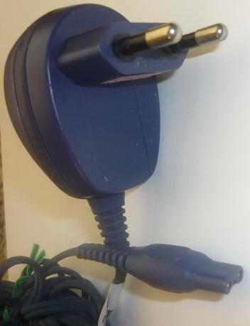 PHILIPS HQ 8000 AC ADAPTER USED 17VDC 400mA CHARGER FOR SHAVER 1