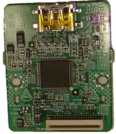 PHILIPS LG 6870R1884AB HDMI INTERFACE Board BARE PCB FOR LRA-760