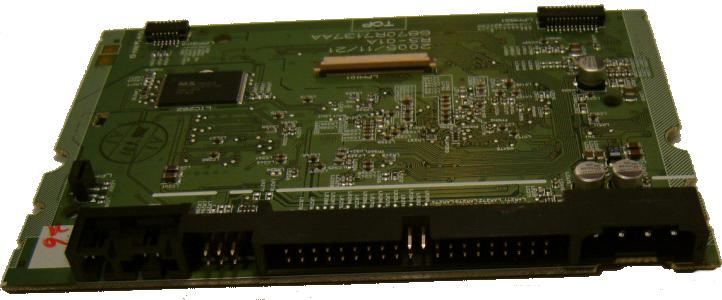 PHILIPS LG 6870R7137AA Loader ReWriter Main Board BARE PCB DVD