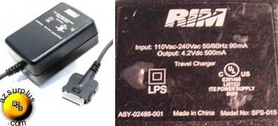 RIM SPS-015 AC ADAPTER ITE POWER SUPPLY