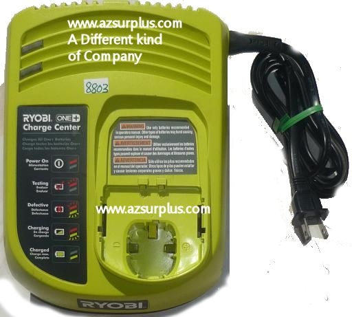 RYOBI P113 CLASS 2 BATTERY CHARGER 18V One+ Lithium-Ion Batterie