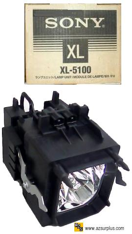 Sony XL-5100 Projection Light LAMP BULB With original HOUSING