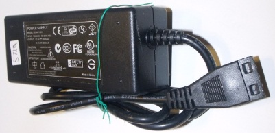 SS34W1205 AC ADAPTER 12VDC 2A 5VDC 2A USED 4 HOLE PIN