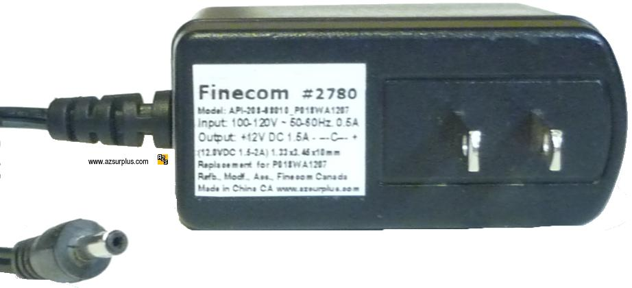 Finecom Replacement