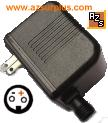 Changzhou JT-DC12V600-OUTDOOR-D AC ADAPTER 12VDC 600mA USED 2Pin