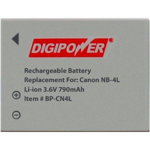 DIGIPOWER BP-CN4L Lithium Ion Battery 3.6VDC 790mAh