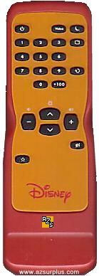 DISNEY DVD Video remote Classic Player attractive for kids NICE