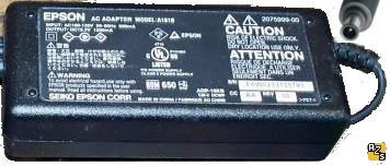EPSON A181B AC ADAPTER DC 15.2V 1200mA ITE POWER SUPPLY ADP-18KB