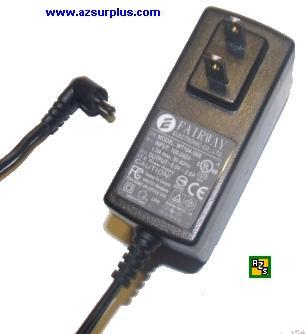 FAIRWAY WT10A-05B AC ADAPTER +5V DC 2.6A USED 1.8 x 4 x 9.5mm