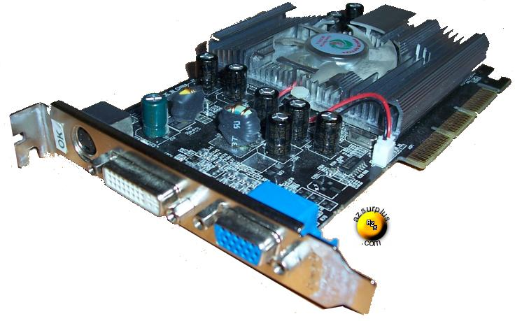 eVGA e-Ge Force FX 5500 DDR 256 MB AGP Video Graphic Card