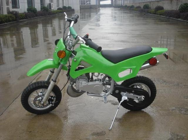 GIOVANNI MINI DIRT BIKE 49CC GAS GREEN Racer Pocket Mini Bike