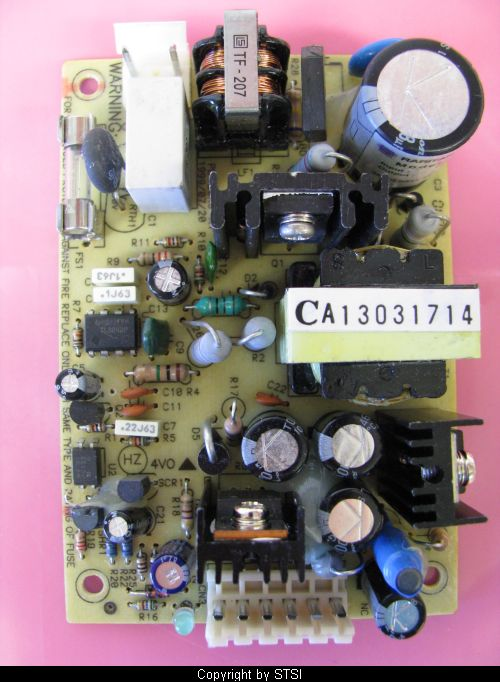 Raritan PD-20RC UMT8 Bare PCB Proprietary Power Supply 5VDC 3A I
