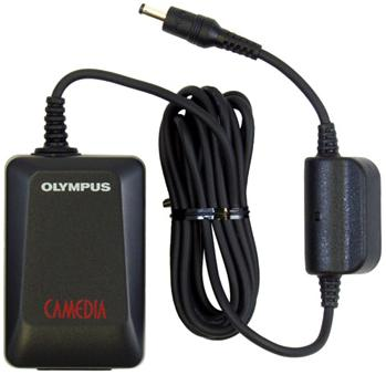 OLYMPUS D-7AC AC ADAPTER 4.8V DC 2A USED -(+)- 1.8x3.9mm