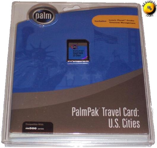 PALM M500 SERIES MINI MEDIA CARD U.S. TRAVEL CITIES