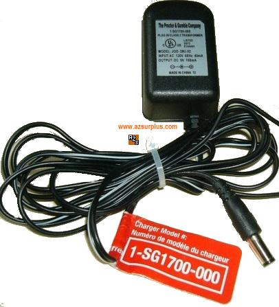 PROCTER & GAMBLE CO. KU28-9-150D AC ADAPTER 9VDC 150mA CHARGER