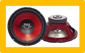 "Pyle 10"" Red Label Series High Performance Subwoofer - 600W Max"