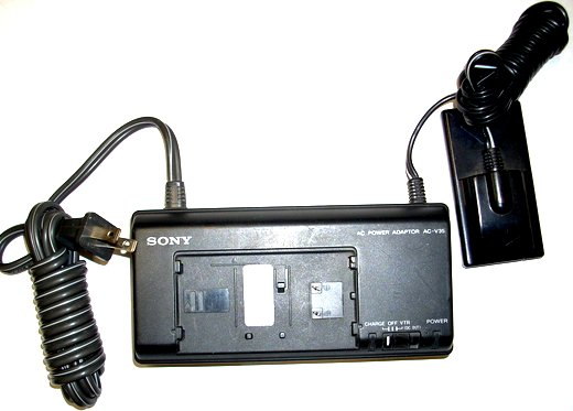 SONY AC-V35 AC POWER ADAPTER 7.5VDC 1.6A CAN USE WITH SONY CCD-F