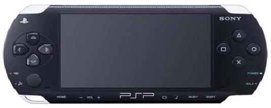 SONY PLAY STATION PORTABLE PSP 1001 Game Console System