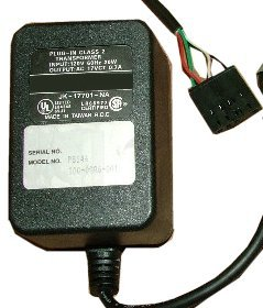 SUPERMADE PS146 100-0086-001B AC ADAPTER 17VCTAC 0.7A USED 4pin
