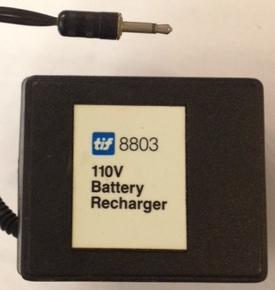 TiF 8803 BATTERY CHARGER 110V USED 2mm AUDIO PIN CONNECTOR POWER