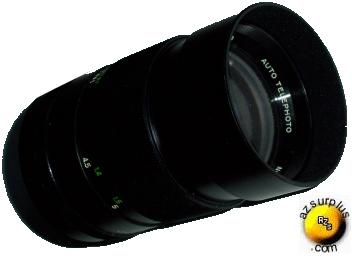 VIVITAR 135MM F3.5 AUTOMATIC FIXED MOUNT CAMERA LENS TELEPHOTO