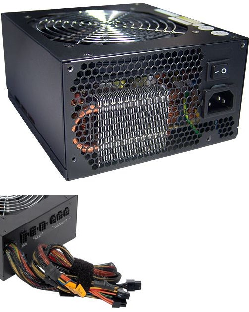 ZALMAN ZM600-HP with SATA connector 600W ATX POWER SUPPLY